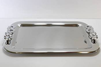 1270 serving tray - INOX 18-C 30 x 44 cm