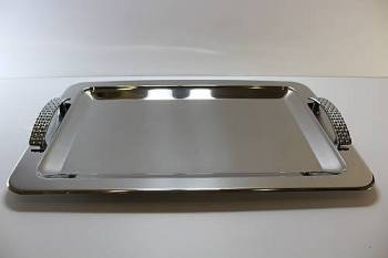 230 ���  serving tray - INOX 18/10 30 x 45 cm
