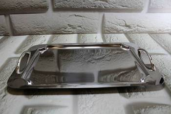 1515 serving tray - INOX 18/10  22.5 x 38 cm