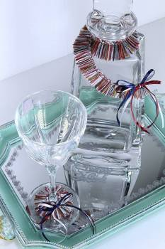 Set boho with veraman tray kathrene decanter