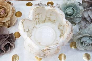 White Gold Τουλίπα μεγάλη για ρεσό 14Χ16cm