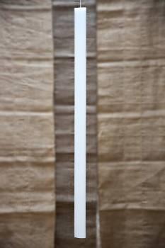Λαμπάδα βάπτισης οβάλ μασίφ 70cm