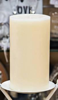 Κερί γάμου για κηροστάτη εκρού 11.5X20cm