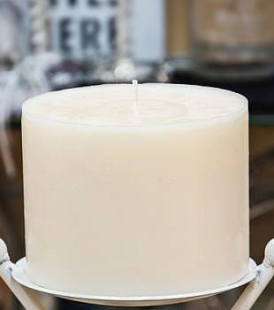 Κερί γάμου για κηροστάτη εκρού 14.5X10cm