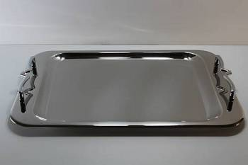 1295 serving tray - INOX 18-C  28 x 43 cm