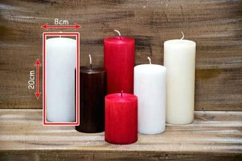 Αρωματικό κερί σαγρέ 8x20cm