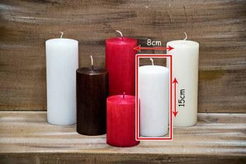 Αρωματικό κερί σαγρέ 8x15cm