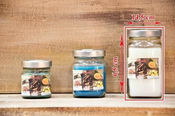 Αρωματικό κερί 14,5x6,5 Βαζάκι