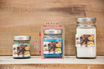 Αρωματικό κερί 10,5x6,5 Βαζάκι