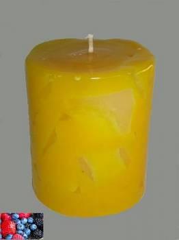 Κερί με κομμάτια και άρωμα φρούτα του δάσους 8x10cm