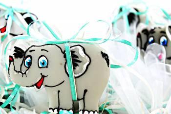 Κέρινο ελεφαντάκι 10*7 cm