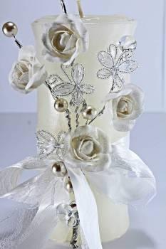 Τυλιχτό 8x20 cm στολ. 6008 λευκό με άρωμα γαρδένια