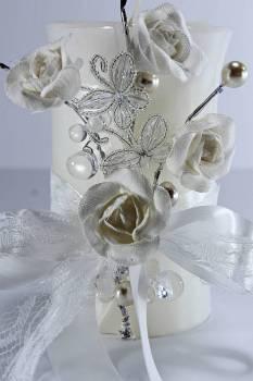 Τυλιχτό 8x15 cm στολ. 6008 λευκό με άρωμα γαρδένια