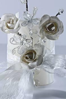 Τυλιχτό 8x10 cm στολ. 6008 λευκό με άρωμα γαρδένια