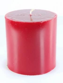 Αρωματικό γυαλιστερό κερί 10x10cm με άρωμα φράουλα