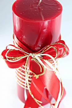 8*20 κόκκινο glossy αρωματικό με χρυσό - κόκκινο ρόδι 0924