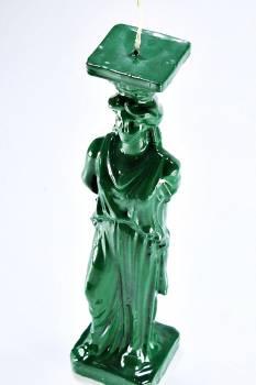 Καρυάτιδα Πράσινη 24*6*6