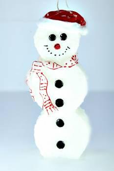 Χιονάνθρωπος όρθιος πρόσωπο σειρά big 10*5*28