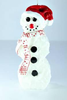 Χιονάνθρωπος όρθιος πρόσωπο σειρά small 8*5*20