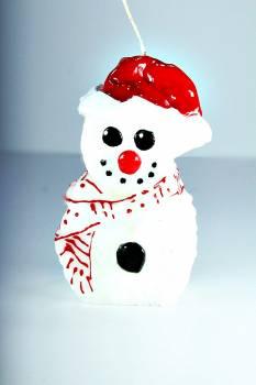 Χιονάνθρωπος όρθιος πρόσωπο σειρά small 7*5*13