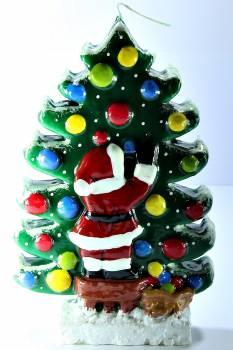 Δέντρο Άγιος Βασίλης πλακέ big 18*4*27