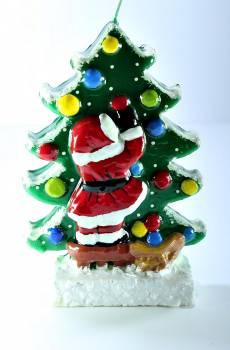 Δέντρο Άγιος Βασίλης πλακέ small 15*4*20