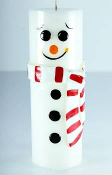 Χιονάνθρωπος κολωνάκι κασκόλ 6.5*20