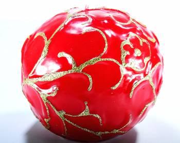 Μπάλα σκαλιστή Big Π45 Κόκκινη