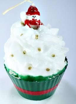 Cup Cake Big Χιονανθρωπάκι 11*9