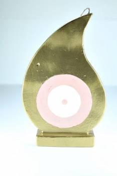 Μάτι στρόγγυλο χρυσό - σάπιο μήλο Big 24*15*4.5