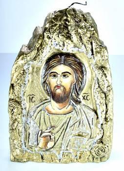 Χειροποίητη Αγιογραφία Χριστός