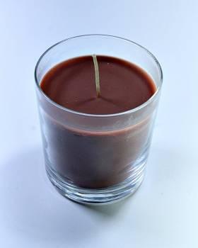 Αρωματικό κερί κανέλα σε ποτήρι μικρό 9*8