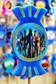 Καραμέλα print 7 ήρωες
