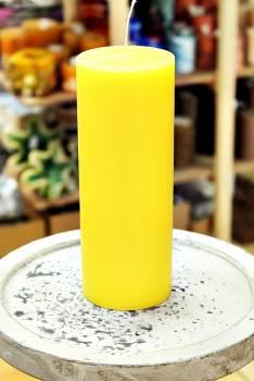 Αρωματικό κερί ματ με άρωμα Λεμόνι 8x20cm