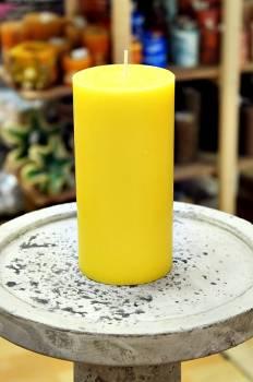 Αρωματικό κερί ματ με άρωμα Λεμόνι 8x15cm
