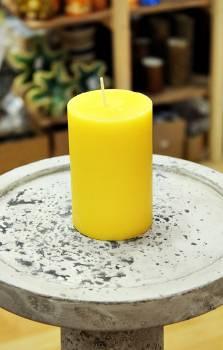 Αρωματικό κερί ματ με άρωμα Λεμόνι 6.50x10cm