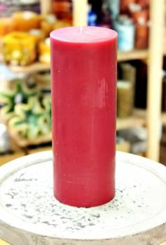 Αρωματικό κερί ματ με άρωμα Κόκκινο Σταφύλι 8x20cm