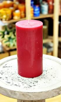 Αρωματικό κερί ματ με άρωμα Κόκκινο Σταφύλι 8x15cm