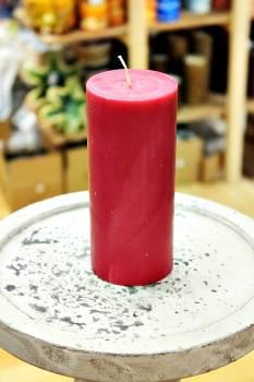 Αρωματικό κερί ματ με άρωμα Κόκκινο Σταφύλι 6.50x15cm