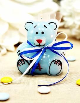 Κέρινο αρκουδάκι 7*6 cm