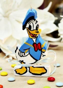 Κέρινος  Donald  πολύχρωμος