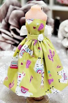 20Β009 Φόρεμα με τύπωμα λάμα