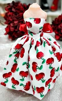 20Β010 Φόρεμα με κεράσια