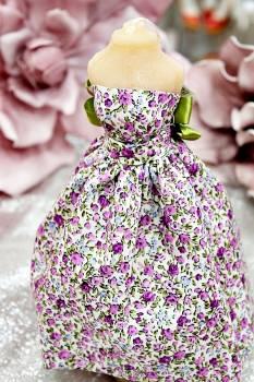 20Β015 Φόρεμα με μικρό φλοράλ