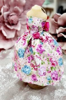 20Β017 Φόρεμα με μεγάλο φλοράλ