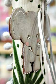 20Δ010 ξύλινος ελέφαντας