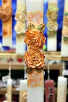 20ΝΤ009 διπλό τριαντάφυλλο κεραμιδί