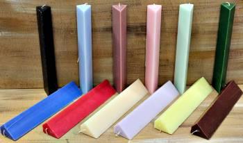 Τριγωνική χρωματιστή-αρωματική 25*4.5*3.5