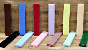 Πλακέ big luxury χρωματιστή-αρωματική 25*4.5*1.5