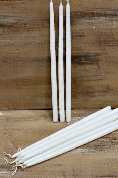 Νο1 38εκ. λευκή στρόγγυλη